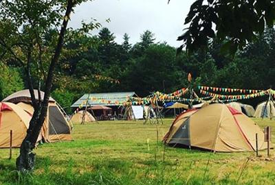 米フェス2018キャンプの様子
